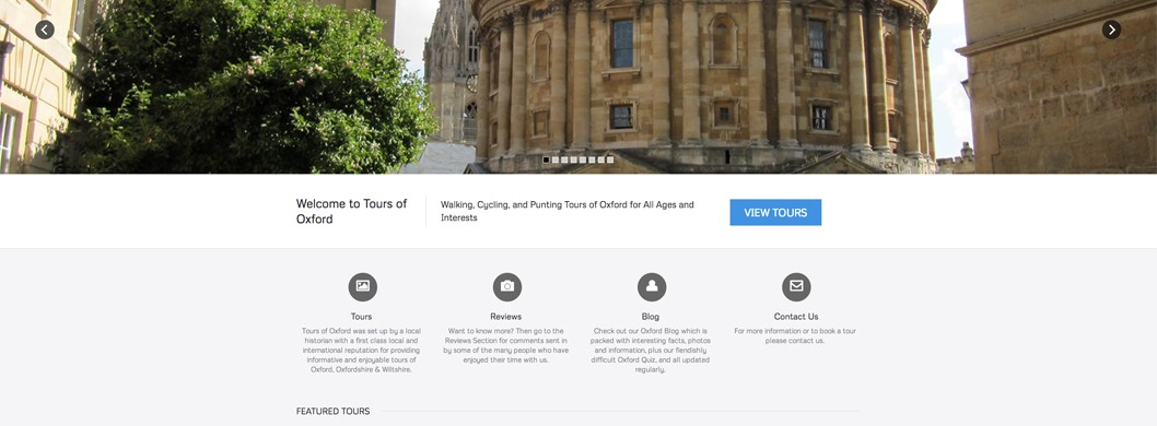 Tours of Oxford